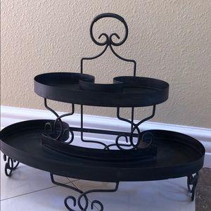 2 tier tray